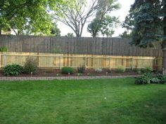 Cheap Privacy Fence Ideas : Privacy Fence Designs For Large Area
