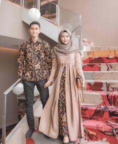 Gamis Batik Kombinasi  b26551172f