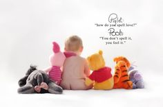 Sweet Winnie the Pooh print on etsy - perfect for a nursery
