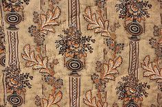 Antique French quilt boutis c1830 pink double sided Alsace toile fabric