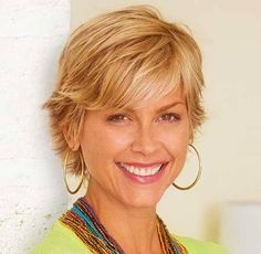 Sassy Short Haircuts for Women Over 40