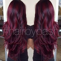 <3 I love this color I want it with blonde on top though and this color streaked through it!!!