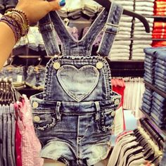 I usually HATE baby overalls but these are cute!