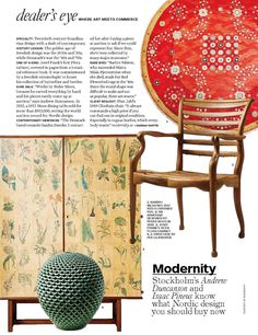 Modernity specialises in the collection and sale of rare and high-grade furniture, ceramics, glass, lighting and jewellery by the most renowned Scandinavian designers of the 20th Century.
