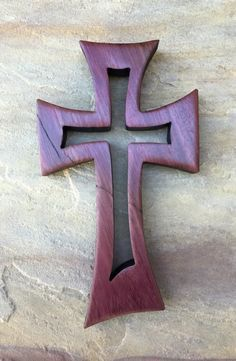 "Purple Heart ""From Within"" Cross"
