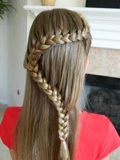 Beautiful fishtail braid hairstyles ideas
