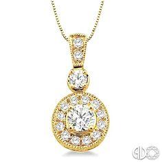 Round cut diamond pendant in antique style daisy cluster setting round cut diamond pendant in antique style daisy cluster setting in 14k white gold 2 carat total weight diamond diamonds necklace our diamond aloadofball Images