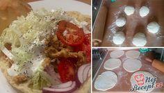 Při nakupování ve velkých obchodních centrech si stále s dětmi, když pociťujeme hlad, koupíme kebab. Tak jsem přemýšlela, jak udělat domácí pita chléb a přišla jsem na skvělý recept, o který bych se s vámi chtěla podělit. Vyzkoušejte. Autor: Mineralka Best Pancake Recipe, Poultry, Pancakes, Easy Meals, Food And Drink, Mexican, Homemade, Snacks, Ethnic Recipes