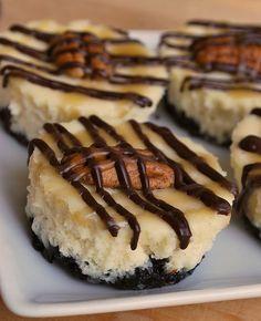 Mini Turtle Cheesecake