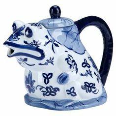 Frog Porcelain Teapot