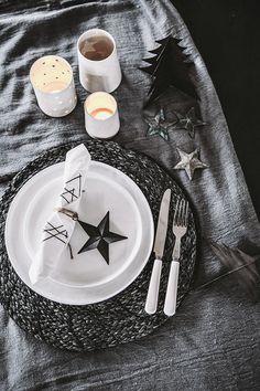 Nu börjar det nya | Helt enkelt | Sköna Hem | holiday 2013 trends: black & white