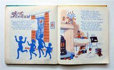 Sinterklaas Vintage Image - Photo Credits: Turning Pages