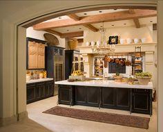 landhausküchen amerikanischer stil - Google-Suche | Black Kitchen ...