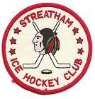 1980's Streatham Redskins Ice Hockey Club, England patch - 1980's, Club, England, HOCKEY, Patch, REDSKINS, Streatham