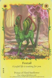 Foxtail, Prince of Sunflower (Saffron & Foxglove)