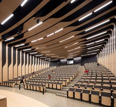 Hall Design, Theatre Design, Auditorium Design, Function Hall, Lecture Theatre, Home Theater Decor, Commercial Complex, Sustainable Energy, Ceiling Design