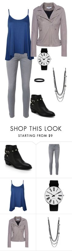"""""""CMS IV"""" by sarahulliel ❤ liked on Polyvore featuring Valentino, AG Adriano Goldschmied, WearAll, Rosendahl and IRO"""
