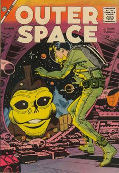 Comic Book Cover For Outer Space #20