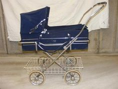 Vintage Mothercare Pram Carrycot Easy Fold 4 99 No Reserve