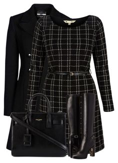 """""""Untitled #4816"""" by cassandra-cafone-wright ❤ liked on Polyvore featuring Emporio Armani, Yumi, Yves Saint Laurent and Burberry"""