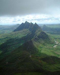 hiking at Moka range in Mauritius