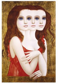 """Artist: Margaret Keane Title: """"Complicated Lady"""" Year: 1976 Medium: Giclee On Canvas, Gold Leafed Signed & Numbered, Limited Edition Size: X Big Eyes Margaret Keane, Keane Big Eyes, Anime Comics, Margret Keane, Keane Artist, Big Eyes Paintings, Arte Pop, Eye Art, Famous Artists"""