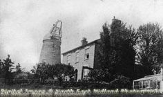 Belvoir Hill, Sneinton, c1900 History Photos, Historical Pictures, Windmills, Nottingham, Family History, Past, England, Memories, City