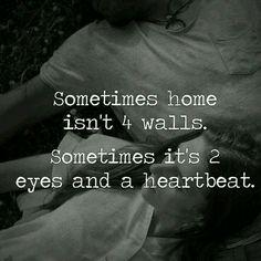 And when u loose him..u r homeless..u don't belong anywhere..