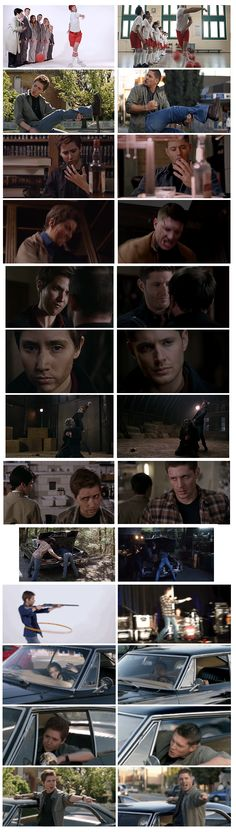The Hillywood Show Supernatural Parody parallels. Hillywood is scary good at replicating scenes exactly. It's amazing.