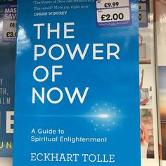 http://ift.tt/1trtD00 Got a bargain at the shops today.  If you have a The Works store near you well worth going in and grabbing The Power of Now. Couldn't argue with a 2 price tag.  There's quite a selection on mindfulness books at the moment in there.  The book comes recommended by my team member she said it changed her thinking on life.  Is available on Amazon as well if you don't have a store near you http://amzn.to/24VwSZm