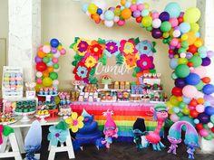 Trolls Party Birthday Party Ideas | Photo 1 of 39