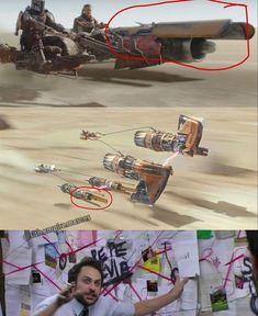 Star Wars Rebels, Star Trek, Star Wars Jokes, Star Wars Facts, Images Star Wars, Star Wars Pictures, Sith, Star Wars History, Walt Disney