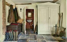 Restored Farmhouse Decor by Max Rollitt - Mud Room / Boot room - Scene Therapy Restored Farmhouse, English Farmhouse, English Country Style, English Countryside, Modern Country, Countryside Style, Italian Farmhouse, British Country, Antique Farmhouse