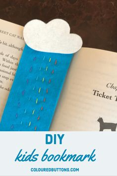 A simpleton sew felt bookmark kids can make.