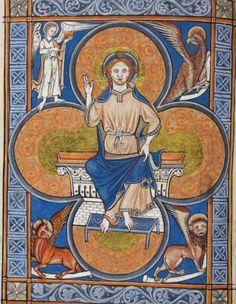"""Robert Miller on Twitter: """"The Rutland Psalter.  Add MS 62925 f. 112v"""