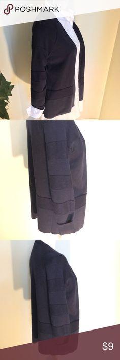 Gorgeous!  LIZ CLAIBORN Cardigan in Navy Blue Dressy Cardigan by Liz Claiborne in Navy Blue. Liz Claiborne Sweaters Cardigans