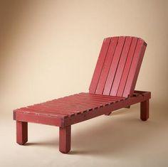 DIY deck chair