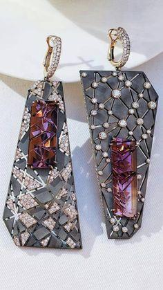 Gems Jewelry, Jewelry Crafts, Jewelry Art, Jewelery, Fine Jewelry, Jewelry Design, Fashion Jewelry, Bridal Jewelry Sets, Modern Jewelry