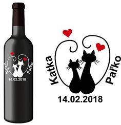 Svadobné-Etikety.SK / Svadobná etiketa Lily - Vyrezávané etikety, Svadobné etikety, Etikety na víno, Vinylové etikety, Etikety na fľaše, Nálepky na víno Wine, Drinks, Bottle, Drinking, Beverages, Flask, Drink, Jars, Beverage