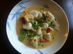 Paleo Thai Green Curry With Cod