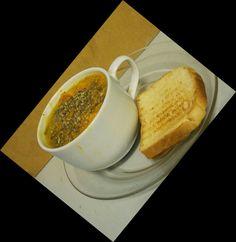 Sopa de abobora com espinafre