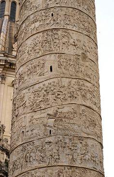 Rom, Via dei Fori Imperiali, Trajan's Forum, Trajan's Column