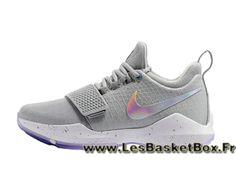 buy online 375d7 f0e1c Basket Nike PG 1 Wolf Grey 878627 ID11 Homme Basket Nike 2017 Gris -  1705150846 - Le