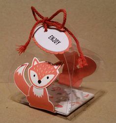 Stampin up Foxy Friends and Curvy Keepsake