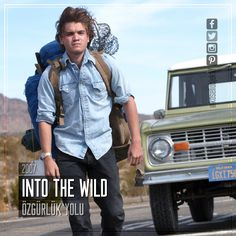 Film Önerisi : Into the Wild (Özgürlük Yolu), 2007. #koseliobjektif #instagram #facebook #twitter #youtube #pinterest #film #sinema #fragman #movie #cinema #trailer #films #movies #trailers #imdb #intothewild
