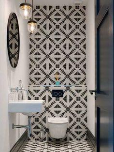 Small bathroom tile ideas to transform ceramic tile floor ideas for small 30 bathroom tile designs on a 2019 22 small bathroom design ideas [. Very Small Bathroom, Small Bathroom Tiles, Tiny Bathrooms, Bathroom Tile Designs, Bathroom Design Small, Bathroom Layout, Beautiful Bathrooms, Bathroom Interior Design, Bathroom Wall