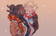 @Jeff Kaplan if you're listening... please give Lucio and Junkrat more in-game interactions.....