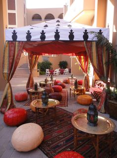 Arabian Nights and Moroccan Theme Party Decorations by Zohar Productions. 800-658-0258