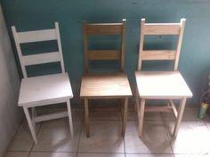Cadeira Rústica Madeira Maciça - R$ 53,90