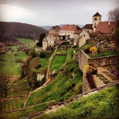 Château-Chalon, Franche-Comté | 58 French Villages That Should Be On Your Bucket List